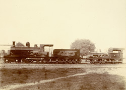 Types of Engines - First 1854. - Latest 1897 [Jamalpur Railway Workshops].